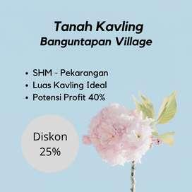 Promo Diskon Harga 25%  Tanah Banguntapan Dekat RS Rajawali Citra