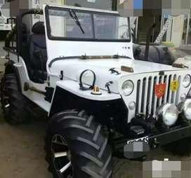 Modified mahindra Di jeep