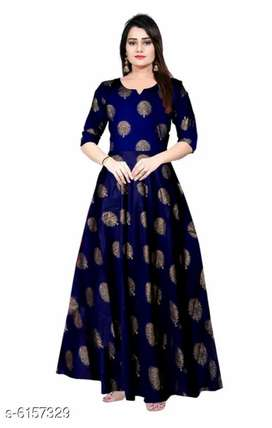 Women's Printed Dresses & Gowns