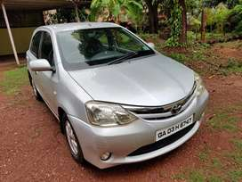 Toyota liva 2011 silver color in mint conditoon