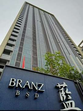 For Rent  BRANZ BSD Apartment, 2Bedrooms, Furnished, Best Price!