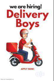 Urgent wanted delivery boys-Coonoor