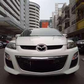 [DP 12 JT] Mazda CX 7 GT Bose' 2010 Putih Good Condition
