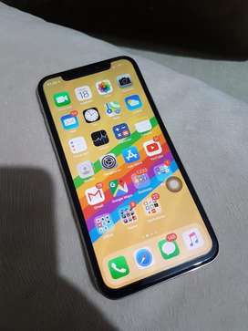 Iphone X 256 gb white mulus