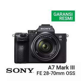 Promo Kredit Kamera Sony A7 Mark III Kit 70mm