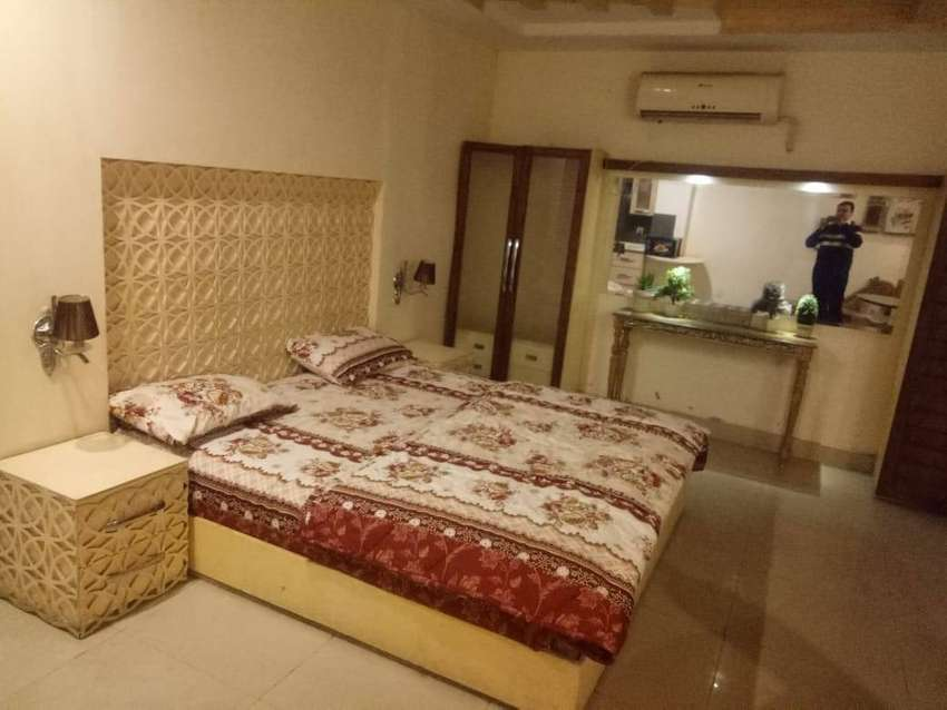 Studio Fully Furniahed Apartment For Rent Bahria Town Lahore 0