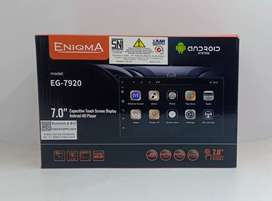 HEAD UNIT ANDROID 7 INCH ENIGMA EG-7920 HEAD UNIT ANDROID OS 9 +PASANG