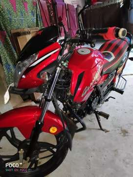 Hero glamour  good condition bike
