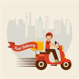 Delivery boy job for E com