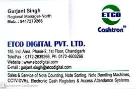 Service Technician required  for  Hoshiarpur