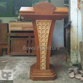 Podium Presiden Mimbar Masjid Minimalis