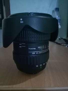Lensa Tokina 11-66 ultrawide for Nikon