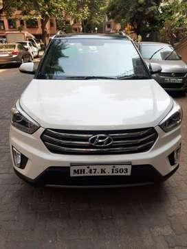 Hyundai Creta 1.6 CRDi SX Option, 2016, Petrol