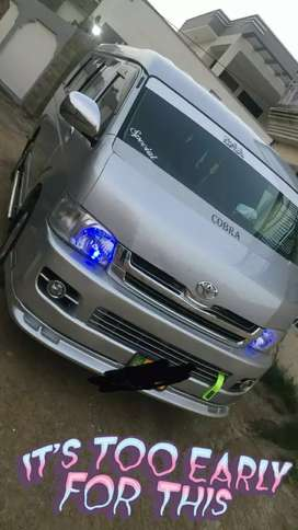 Hiace very good conditions