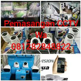 Paket cctv 2mp Spc Garansi 1th Spek lengkap : 4 camera cctv in/out
