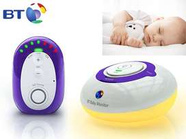 BT DECT Digital HD Sound Baby Monitor 200 like Avent Tommee Choice