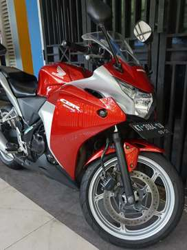 Cbr250r Red Silver
