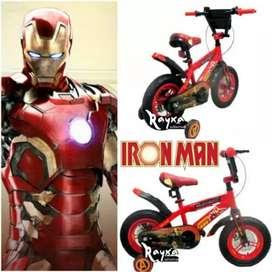 Sepeda Anak Iron Man