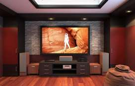 I do Music System & Home theater installation jobs.