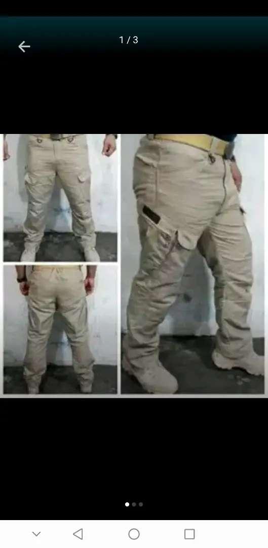 Celana Tactical Kargo Cargo merk Black Hawk uk44 Big Size warna Beige 0