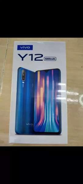 Jual HP Android murah merk Vivo Y 12 segel resmi ram 3/32gb.