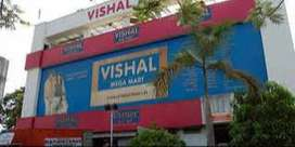 OPENING IN VISHAL MEGA MART SHOWROOM FOR MALE & FEMALE CANDIDATES