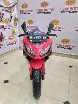 Kawasaki Ninja Fi 250cc 2017 red