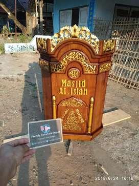 Mimbar masjid juak mimbar jepara