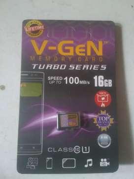 Memory micro sd Vgen 16gb turbo lifetime