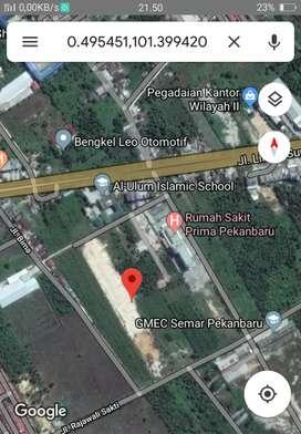 Tanah dijual 1 ha di kota pekanbaru