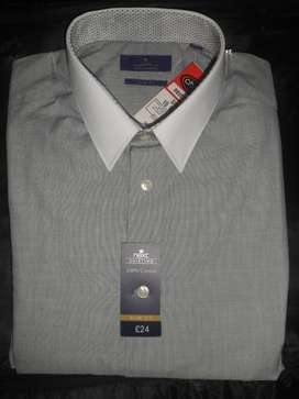 Next/ Marks and Spencer Imported UK Brand Original Shirt - 15.5 Size