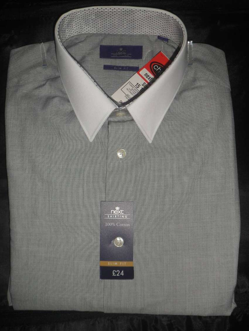 Next/ Marks and Spencer Imported UK Brand Original Shirt - 15.5 Size 0