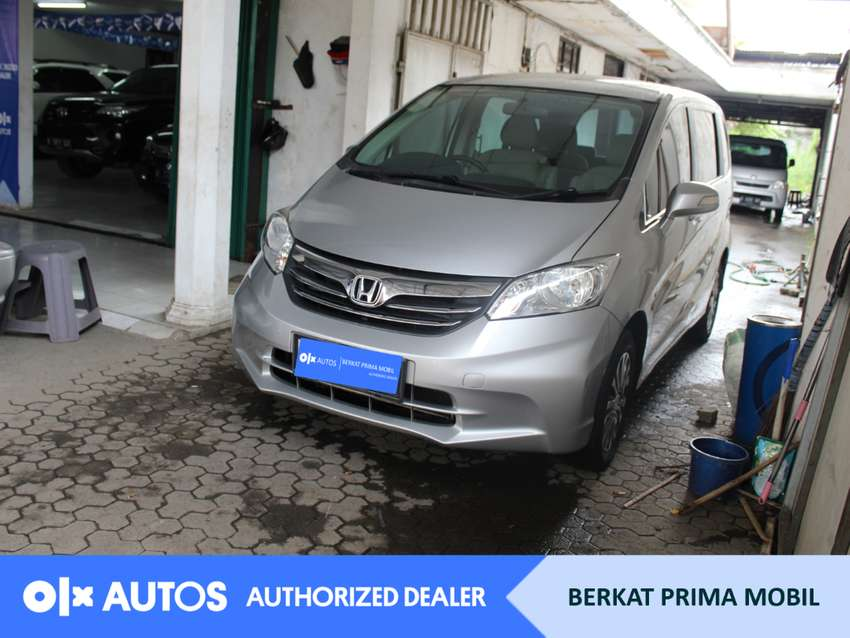[OLXAutos] Honda Freed 2013 S 1.5 Bensin A/T Silver #Berkat Prima
