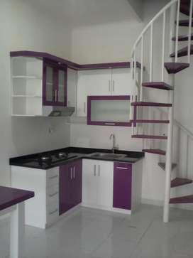 Kitchen set alumunium Berkualitas Elegan#