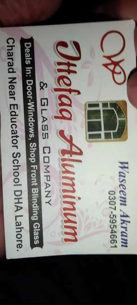 Ittefaq glass and alominium and electrician center