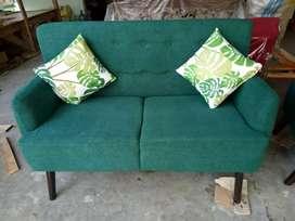 Jual sofa 2 seat minimalis bisa custom