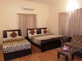 Beachside guest house clifton karachi room manthly 80000