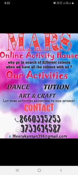 Online activity house ..