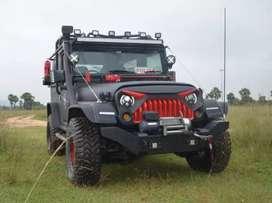 Full modified Thar power steering power brake power clutch