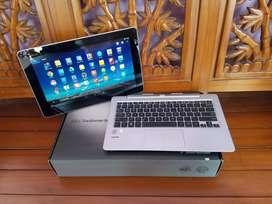 Dijual laptop asus core i7 gen4 sekaligus android lyar sentuh cek fto