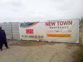 Plots On Easy Installments New Town Residency