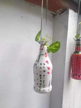 BottleArt  by kids