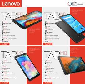 Brand new Lenovo Tablets with 1 year official brand warranty