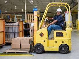 Forklift operators wanted for cargo contract company