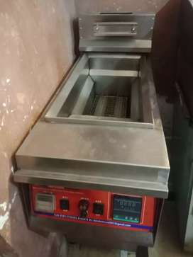 Fryer + Hot plate with Heavy Iron plate