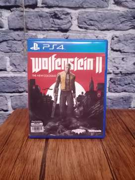 BD PS4 Wolfenstein 2 II The New Colossus game cd kaset Collosus ps 4