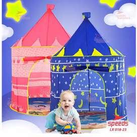 Tenda camping anak model castle