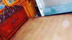2 Single Chinyoti style wooden bed for sale