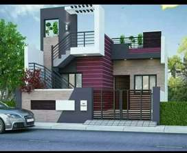 Kailash nagar bhilai mein 2bhk house 1000sqft plot mein 900buildup aa