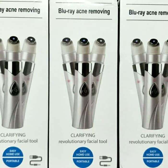 Blue laser pen wireless laser biru acne dark spot mole remover jerawat 0
